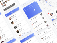 Chat UI- BLUE