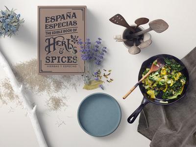 Edible book of Spices