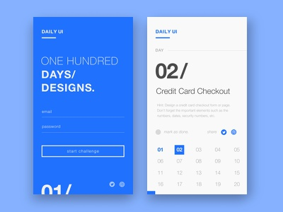 Daily UI 001- Sign Up sign up screen daily ui
