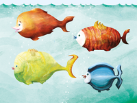 The four fishies