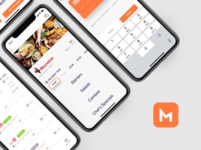 MealHub - Food Delivery - Misc. Screens app icon schedule delivery menu checkout credit card orders food delivery mobile app product design product app mobile