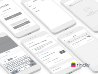 Rindle - Productivity App Wireframes