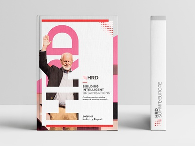 HRD Book homepage principle website sketch book people speaker indesign branding print