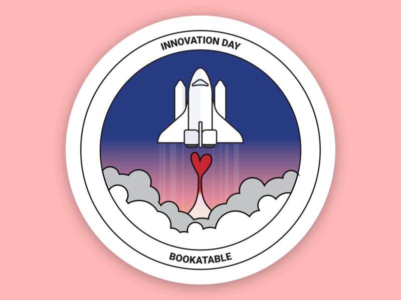 Innovation Day Sticker 2 sticker design illustration branding vector innovation sticker illustrator design