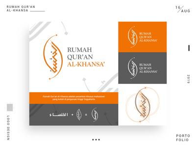 Al-Khansa Logo Design