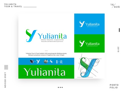 Logo Design Project: Yulianita Tour & Travel