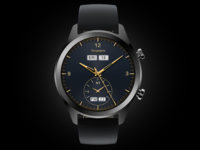Multiple time zone watchface