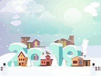 Winter & New Year Illustration!