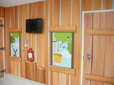 Wolfson Children's Hospital - Treatment Room