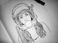 Space Girl WIP