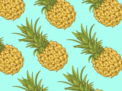 Pineapple Party Pattern