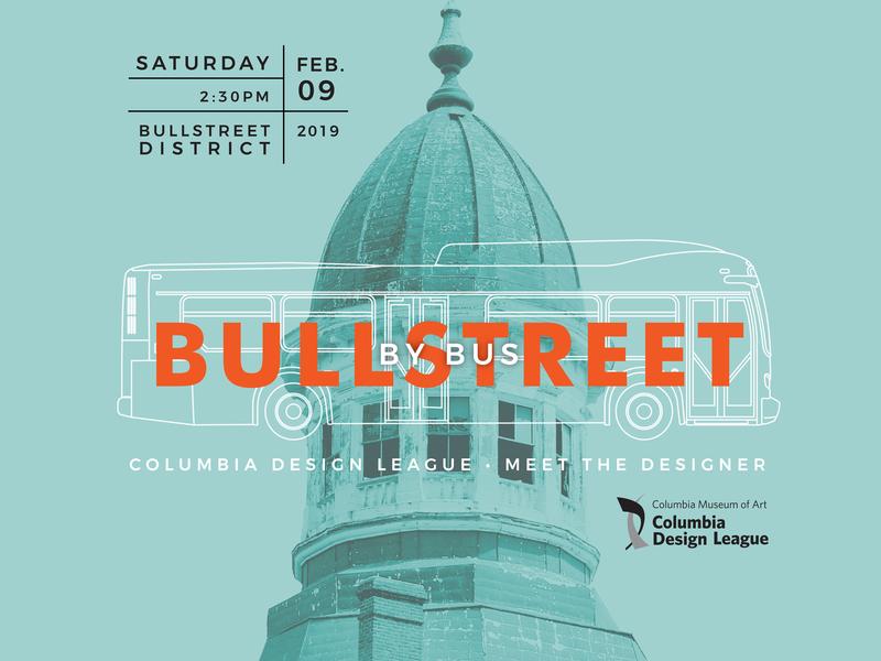 BullStreet By Bus Ad cupola bus sc columbia bullstreet promotion ad