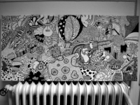 Doodle on Canvas