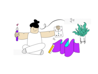 Non-binary Illustration