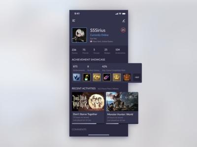UI Challenge #006 (User Profile)