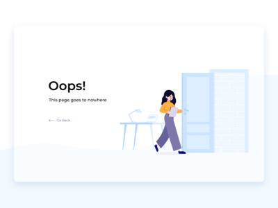 UI Challenge #008 (404 page)