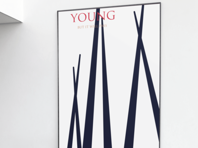 «Young, but it will pass» film poster