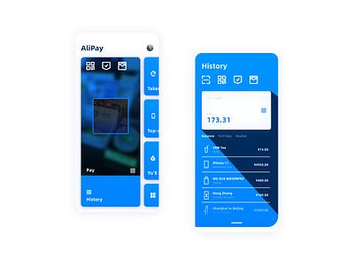 Alipay redesign ux ui app design