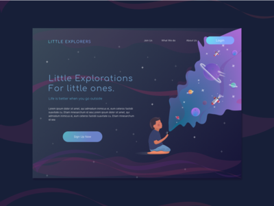 Day 003 : Landing Page - Daily UI challenge