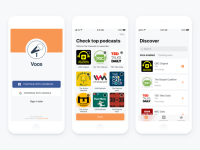 iOS app for Podcast lovers