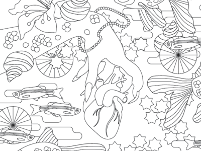 Coloring Book preview Part 2