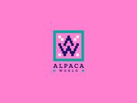 LOGO FOR ALPACA WORLD