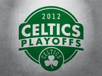 Celtics 2012 Playoff Logo