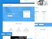 Landgig – Landing page template free HTML download