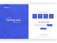 Razbin -  Coming Soon Template
