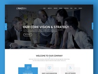 Razbin – Digital Agency web Template free psd