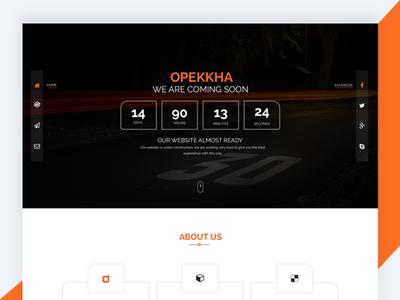 Opekkha – HTML5 Responsive Coming Soon Template