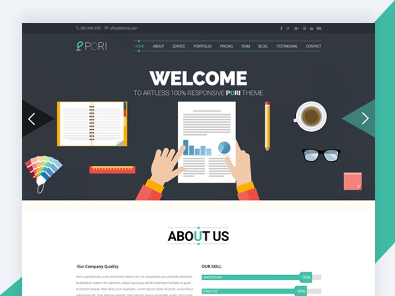 Klasik html5 corporate template free download by revol themes klasik is a streamlined and professional business html template for agency company startup personal website portfolio etc friedricerecipe Choice Image