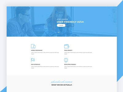NEON – Html5 Responsive Business Template Free Download