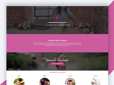 Spa – Beauty Free HTML Template Download