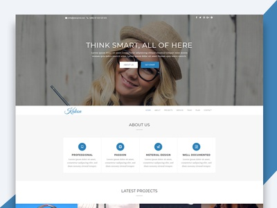 Kakon – Design Studio Marketing Agency Bootstrap Template