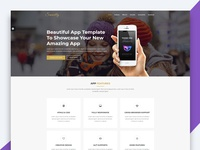 Smartly – App Landing Page HTML Template