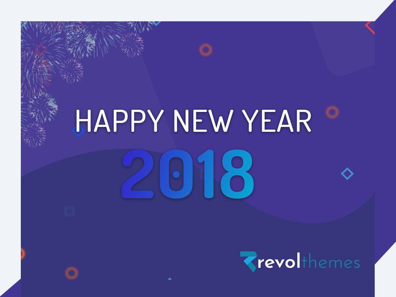 Happy New Year By Revol Themes html template revolthemes web design bootstrap web css html business