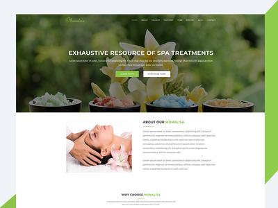 Monalisa – Health & Beauty Bootstrap Template