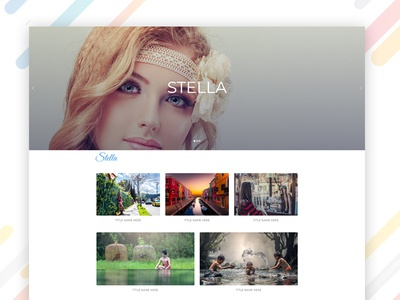 Stella – Creative Photography Portfolio Bootstrap Template bootstrap html template education html template web template web design web bootstrap template html stella