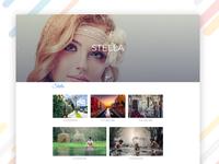 Stella – Creative Photography Portfolio Bootstrap Template