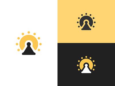 Sunsteer monogram mark logo concept identity logo design brandmark branding brand logotype logo