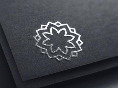 Ornament logo concept logo concept mark monogram logo design identity brandmark branding brand logotype logo