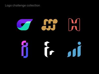 Logo challenge collection v2 logo design logo collection brandmark logotype
