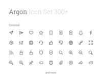 Argon Premium Icon Set 300+
