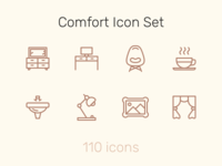 Comfort Icon Set