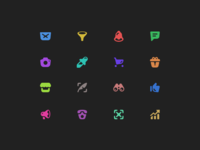 Solid icons