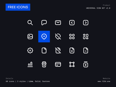 Universal Icon Set v2.0 | Freebie ui symbol iconography minimalism clean glyph vector icons figma community iconsets download icon icons pack icon set demo figma iconset icons sample freebies