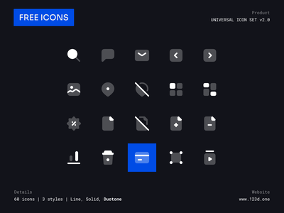 Universal Icon Set v2.0   Freebie ui symbol iconography minimalism clean glyph vector icons figma community iconsets download icon icons pack icon set demo figma iconset icons sample freebies