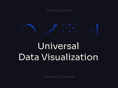 Universal Data Visualization | Coming soon 123done universal data visualization animation motion template component widgets bar doughnut graph table dashboard dataviz charts chart analytics data visualization data infographic ui