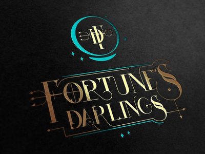 Fortune's Darlings astrology symbol cards stars monogram gold alchemy planetary horoscope tarot fortune